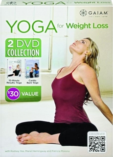 YOGA FOR WEIGHT LOSS: 2 DVD Collection