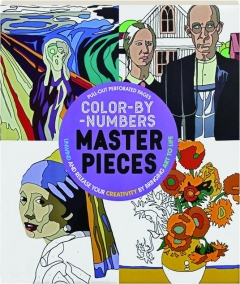 COLOR-BY-NUMBERS MASTERPIECES