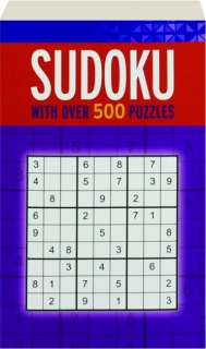 SUDOKU: With over 500 Puzzles