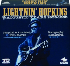 LIGHTNIN' HOPKINS: The Acoustic Years 1959-1960