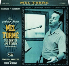 THE MANY SIDES OF MEL TORME: The Quintet and Beyond 1944-1960