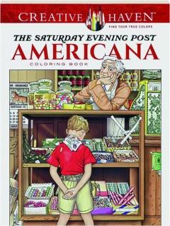 <I>THE SATURDAY EVENING POST</I> AMERICANA COLORING BOOK
