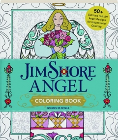 JIM SHORE ANGEL COLORING BOOK