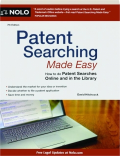 PATENT SEARCHING MADE EASY, 7TH EDITION