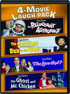THE RELUCTANT ASTRONAUT / THE SHAKIEST GUN IN THE WEST / THE LOVE GOD? / THE GHOST AND MR. CHICKEN