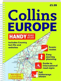 COLLINS EUROPE HANDY ROAD ATLAS