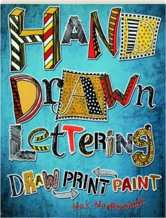 HAND DRAWN LETTERING: Draw Paint Print