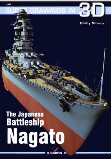 THE JAPANESE BATTLESHIP <I>NAGATO:</I> Super Drawings in 3D