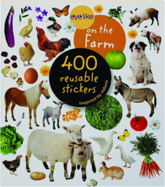EYELIKE ON THE FARM: 400 Reusable Stickers