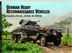 GERMAN HEAVY RECONNAISSANCE VEHICLES