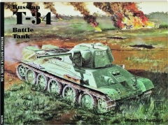 RUSSIAN T-34 BATTLE TANK