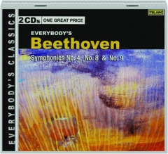 EVERYBODY'S BEETHOVEN: Symphonies No.4, No.8 & No.9