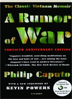 A RUMOR OF WAR, FORTIETH ANNIVERSARY EDITION