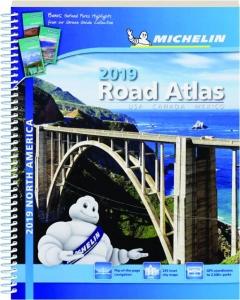 MICHELIN 2019 NORTH AMERICA ROAD ATLAS: USA, Canada, Mexico