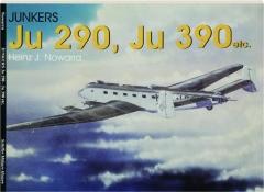 JUNKERS JU 290, JU 390 ETC