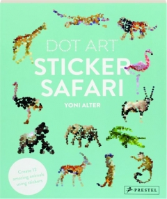 STICKER SAFARI DOT ART