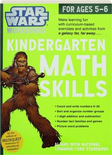 KINDERGARTEN MATH SKILLS: <I>Star Wars</I> Workbooks