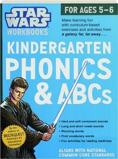 KINDERGARTEN PHONICS & ABCS: <I>Star Wars</I> Workbooks