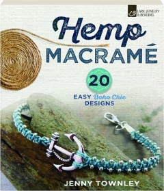 HEMP MACRAME: 20 Easy Boho Chic Designs