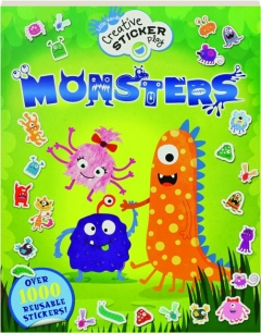 MONSTERS: Over 1000 Reusable Stickers!
