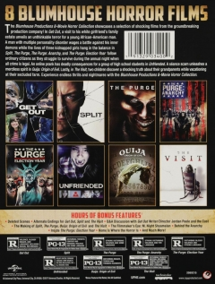BLUMHOUSE PRODUCTIONS 8 MOVIE HORROR COLLECTION - HamiltonBook com