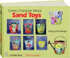 COMIC CHARACTER METAL SAND TOYS