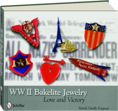 WWII BAKELITE JEWELRY: Love and Victory