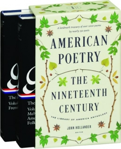 AMERICAN POETRY: The Nineteenth Century