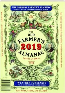 <I>THE OLD FARMER'S ALMANAC</I> 2019