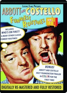 ABBOTT AND COSTELLO, VOL. 1: Funniest Routines