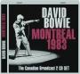 DAVID BOWIE: Montreal 1983 - Thumb 1