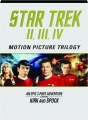 STAR TREK II, III, IV: Motion Picture Trilogy - Thumb 1