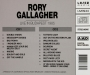RORY GALLAGHER: Live in Budapest 1985 - Thumb 2
