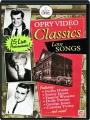 OPRY VIDEO CLASSICS: Love Songs - Thumb 1