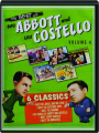 THE BEST OF BUD ABBOTT AND LOU COSTELLO, VOLUME 4 - Thumb 1