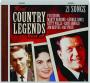 REAL COUNTRY LEGENDS: Best Of - Thumb 1