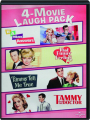 4-MOVIE LAUGH PACK: If a Man Answers / That Funny Feeling / Tammy Tell Me True / Tammy and the Doctor - Thumb 1