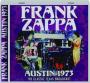 FRANK ZAPPA: Austin 1973 - Thumb 1