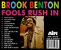 BROOK BENTON: Fools Rush In - Thumb 2
