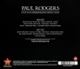 PAUL RODGERS: Live at Hammersmith Apollo 2009 - Thumb 2