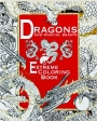 DRAGONS AND MAGICAL BEASTS: Extreme Coloring Book - Thumb 1
