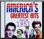 AMERICA'S GREATEST HITS 1951, VOLUME 2 - Thumb 1