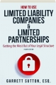 HOW TO USE LIMITED LIABILITY COMPANIES & LIMITED PARTNERSHIPS, FOURTH EDITION - Thumb 1
