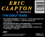 ERIC CLAPTON & FRIENDS: The Early Years - Thumb 2