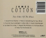 JAMES COTTON: Two Sides of the Blues - Thumb 2