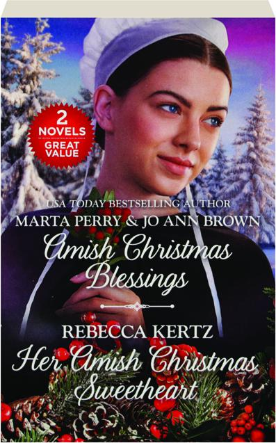 AMISH CHRISTMAS BLESSINGS / HER AMISH CHRISTMAS SWEETHEART -  HamiltonBook com