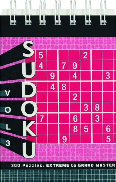 SUDOKU, VOL  3: 200 Puzzles--Extreme to Grand Master - HamiltonBook com