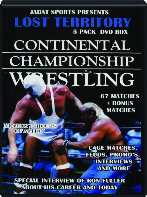 The Lost Territory Continental Championship Wrestling Hamiltonbook Com