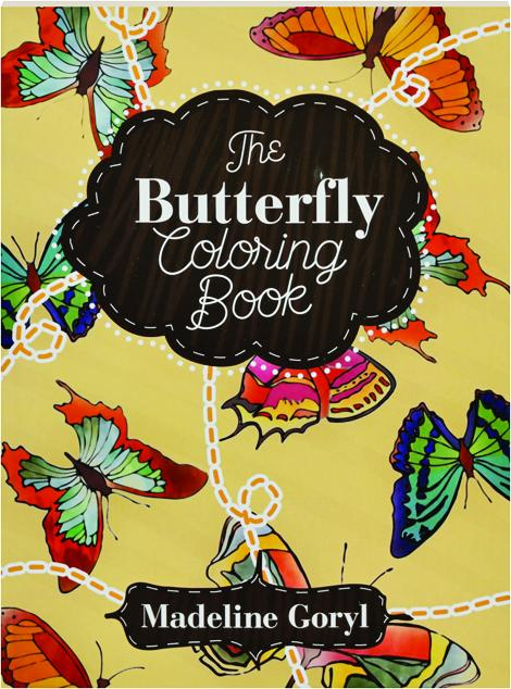 THE BUTTERFLY COLORING BOOK