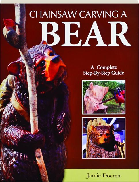 Chainsaw carving a bear complete step by guide